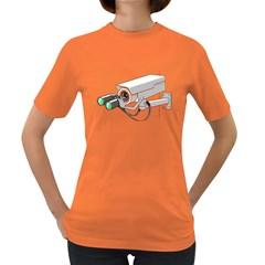 Watching You Womens' T Shirt (colored)