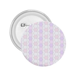 Allover Graphic Soft Pink 2.25  Button