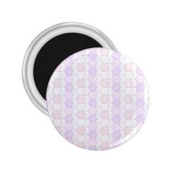 Allover Graphic Soft Pink 2.25  Button Magnet