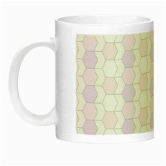 Allover Graphic Soft Pink Glow in the Dark Mug