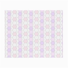 Allover Graphic Soft Pink Glasses Cloth (Small, Two Sided)