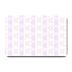 Allover Graphic Soft Pink Small Door Mat