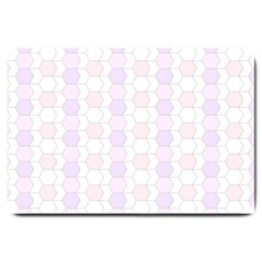 Allover Graphic Soft Pink Large Door Mat