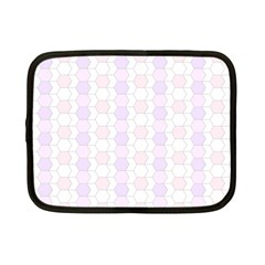 Allover Graphic Soft Pink Netbook Sleeve (small)