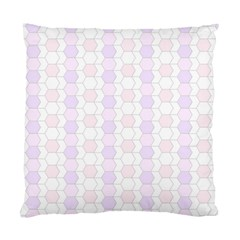 Allover Graphic Soft Pink Cushion Case (Single Sided)
