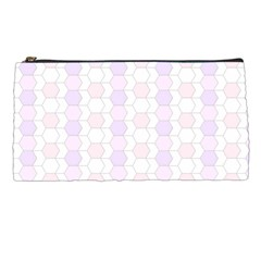 Allover Graphic Soft Pink Pencil Case