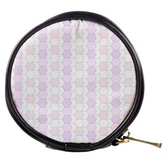 Allover Graphic Soft Pink Mini Makeup Case