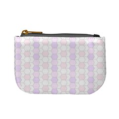 Allover Graphic Soft Pink Coin Change Purse
