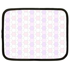 Allover Graphic Soft Pink Netbook Sleeve (xl)
