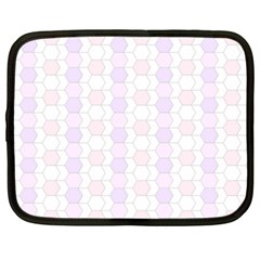 Allover Graphic Soft Pink Netbook Sleeve (XXL)
