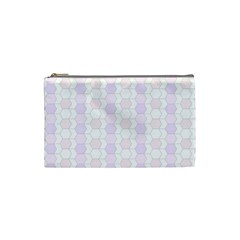 Allover Graphic Soft Pink Cosmetic Bag (small)