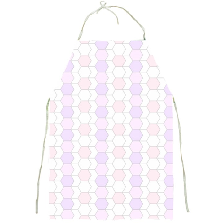 Allover Graphic Soft Pink Apron