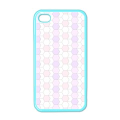 Allover Graphic Soft Pink Apple Iphone 4 Case (color)