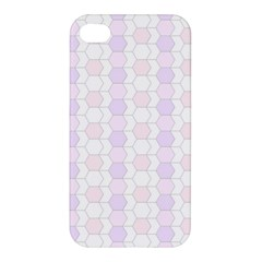 Allover Graphic Soft Pink Apple Iphone 4/4s Hardshell Case
