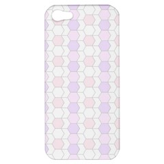 Allover Graphic Soft Pink Apple iPhone 5 Hardshell Case