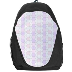Allover Graphic Soft Pink Backpack Bag