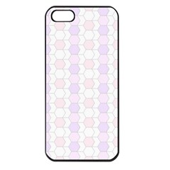 Allover Graphic Soft Pink Apple Iphone 5 Seamless Case (black)