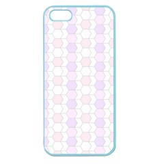 Allover Graphic Soft Pink Apple Seamless iPhone 5 Case (Color)