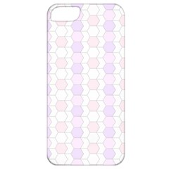 Allover Graphic Soft Pink Apple Iphone 5 Classic Hardshell Case