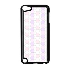 Allover Graphic Soft Pink Apple iPod Touch 5 Case (Black)