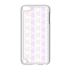 Allover Graphic Soft Pink Apple iPod Touch 5 Case (White)