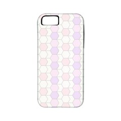 Allover Graphic Soft Pink Apple iPhone 5 Classic Hardshell Case (PC+Silicone)