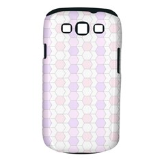 Allover Graphic Soft Pink Samsung Galaxy S III Classic Hardshell Case (PC+Silicone)