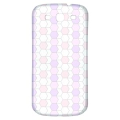 Allover Graphic Soft Pink Samsung Galaxy S3 S III Classic Hardshell Back Case