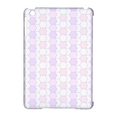 Allover Graphic Soft Pink Apple iPad Mini Hardshell Case (Compatible with Smart Cover)