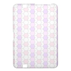 Allover Graphic Soft Pink Kindle Fire HD 8.9  Hardshell Case