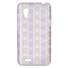 Allover Graphic Soft Pink HTC Desire VT T328T Hardshell Case