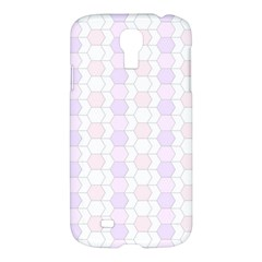 Allover Graphic Soft Pink Samsung Galaxy S4 I9500/I9505 Hardshell Case