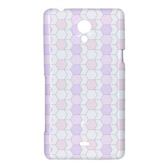 Allover Graphic Soft Pink Sony Xperia T Hardshell Case