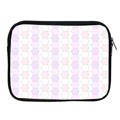 Allover Graphic Soft Pink Apple Ipad Zippered Sleeve