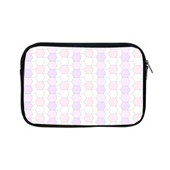 Allover Graphic Soft Pink Apple Ipad Mini Zippered Sleeve