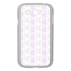 Allover Graphic Soft Pink Samsung Galaxy Grand DUOS I9082 Case (White)