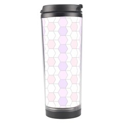 Allover Graphic Soft Pink Travel Tumbler