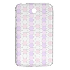 Allover Graphic Soft Pink Samsung Galaxy Tab 3 (7 ) P3200 Hardshell Case