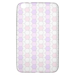 Allover Graphic Soft Pink Samsung Galaxy Tab 3 (8 ) T3100 Hardshell Case