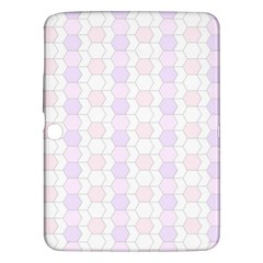 Allover Graphic Soft Pink Samsung Galaxy Tab 3 (10.1 ) P5200 Hardshell Case
