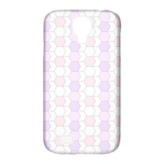 Allover Graphic Soft Pink Samsung Galaxy S4 Classic Hardshell Case (PC+Silicone)