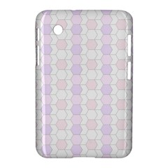 Allover Graphic Soft Pink Samsung Galaxy Tab 2 (7 ) P3100 Hardshell Case