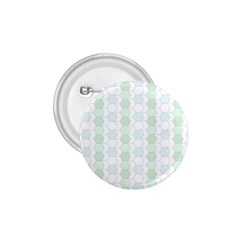 Allover Graphic Soft Aqua 1.75  Button