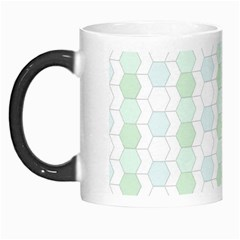 Allover Graphic Soft Aqua Morph Mug