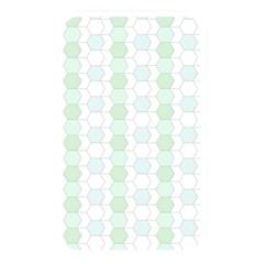 Allover Graphic Soft Aqua Memory Card Reader (Rectangular)