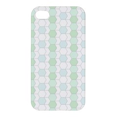 Allover Graphic Soft Aqua Apple Iphone 4/4s Hardshell Case