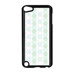 Allover Graphic Soft Aqua Apple iPod Touch 5 Case (Black)