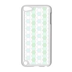 Allover Graphic Soft Aqua Apple iPod Touch 5 Case (White)