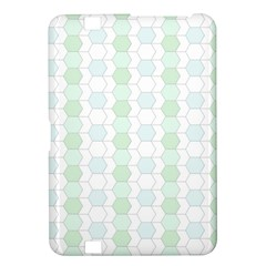 Allover Graphic Soft Aqua Kindle Fire Hd 8 9  Hardshell Case