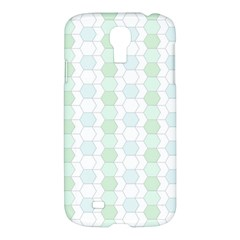 Allover Graphic Soft Aqua Samsung Galaxy S4 I9500/i9505 Hardshell Case